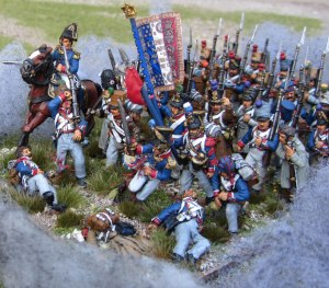 Advancing French Column