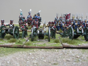 Polish Line artillery