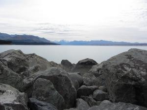 Aoraki overlooking Lake Pukaki